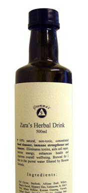 Get information on : Zara's Herba Tea.